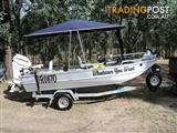 AQUAMASTER SARATOGA 4.1 ALLOY FISHING BOAT