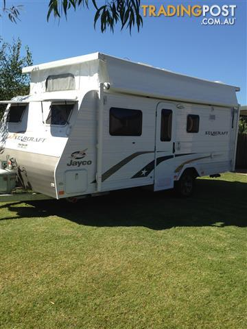 Jayco Starcraft Pop top, 16.67, with ensuite, 3 yrs old.
