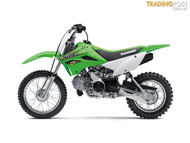 2018 Kawasaki Klx110 110cc Chf Enduro