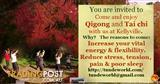QiGong hold at Kellyville. Enjoy it with us