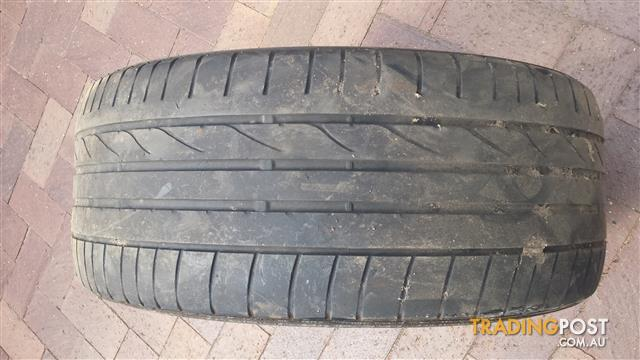 Four Different Tyres