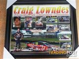 From The Shed.Large Print Of Bathurst Winner Personally Signed.