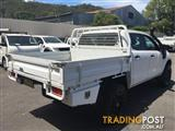 2012  FORD RANGER XL PX 4D Cab Chassis