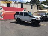 2012  Toyota Landcruiser Workmate VDJ76R MY10 5D Wagon
