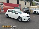 2012  Toyota Corolla Ascent ZRE182R 5D Hatchback