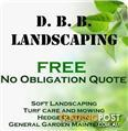 D.B.B landscaping, garden maintenance services