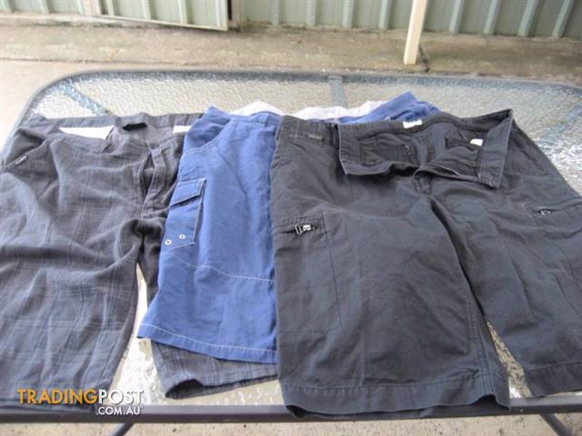 3 Big Size Shorts - $30 All