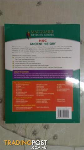 HSC Ancient History By Vicky Stevens