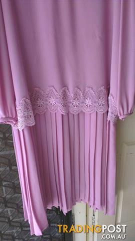 Vintage YOUNG EDWARDIAN DRESS SIZE 20