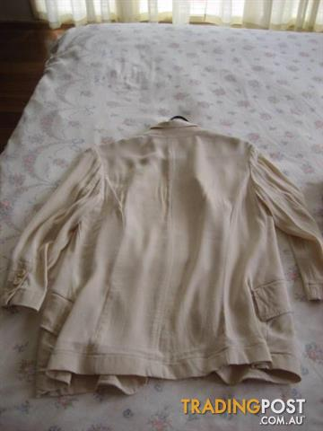 2 Women Jacket sz 10 DOLLINA petites and dotti Price for Both