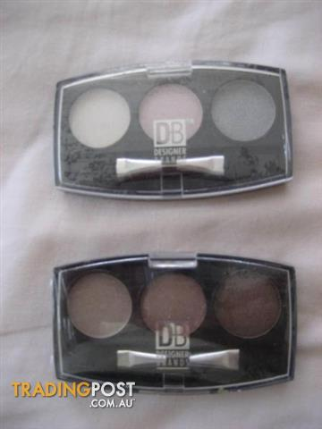 2 DB DESIGNER BRANDS 3 Colour Eyeshadow Palette