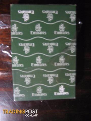Emirates Airline Playing Cards