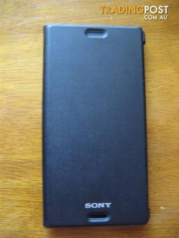 Encase Leather-Style Sony Xperia Z3 Case - Black