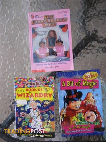 A Bit of Magic-Book of Wizard-The baby setter Club