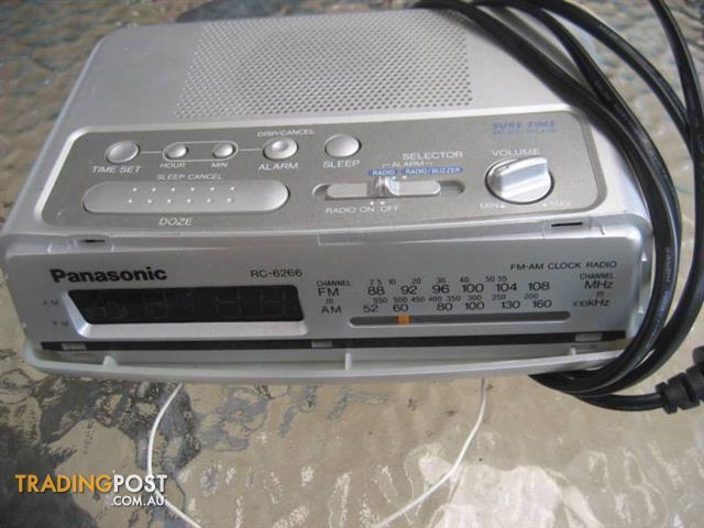 CLOCK and Radio - Panasonic