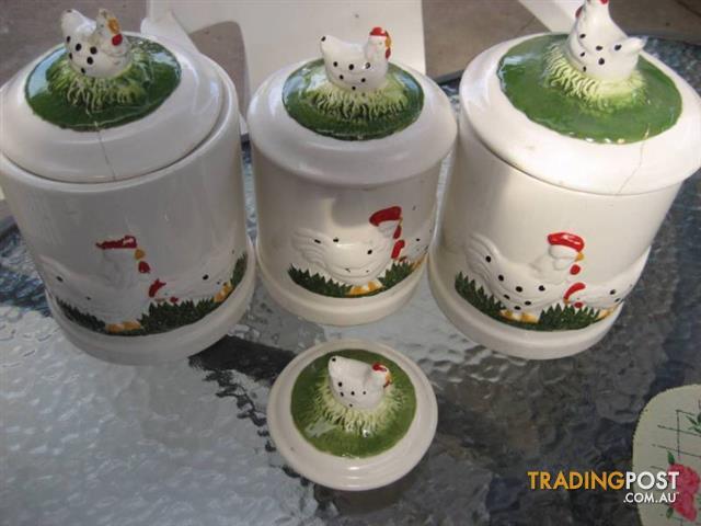 Ceramic Home Tea Coffee Sugar Canister