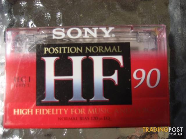 SONY Position Normal HF 90- Made in Italy