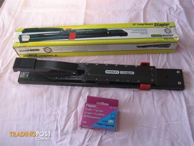 12'' Long Reach Stapler Model B440LR And Box Paper Pro