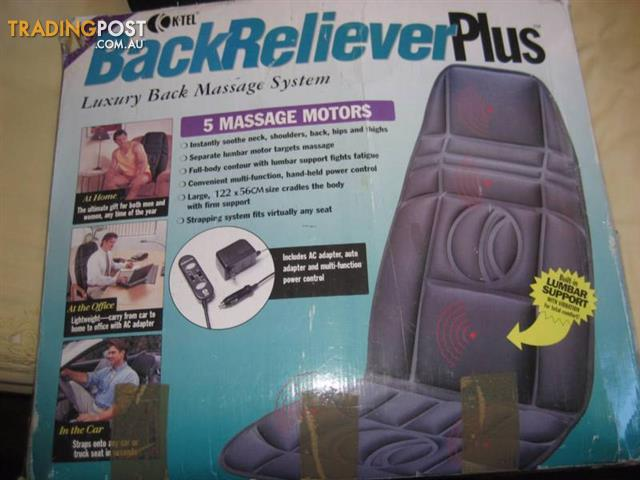 K-TEL Back Reliever Plus 5 Massager Motors
