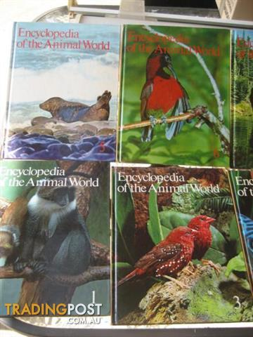 Children's Encyclopaedia - the Animal World - 21 VOL