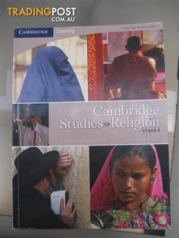 HSC TEXTBOOKS - Cambridge Studies of religion with the CD stage