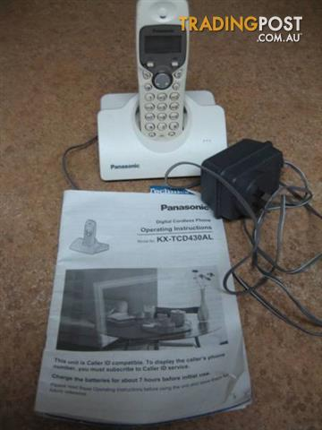 Home Phone Panasonic Digtial Cordless Phone