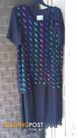 Vintage DOLINA EVENING DRESS SIZE18