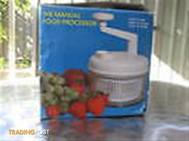 The Manual Food Processor