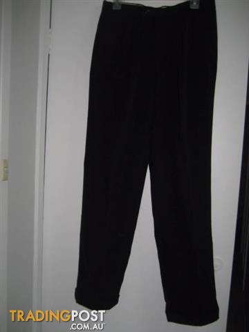 New Men Black Trouser- Lupino- Design in Australia size 82R