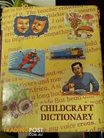 Child craft Dictionary PRIMARY SCHOOL STUDENT