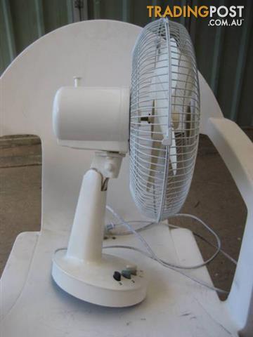 Omega altise White Round Desk Fan