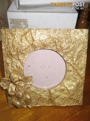 4 New Picture Frames Glittering Gold - $16 all