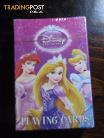 Disney Princess Playing Disney Princess Playing Cards