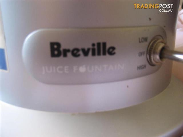 Breville JUICE FOUNDATION HOME JUICE MACHINE - JE 95