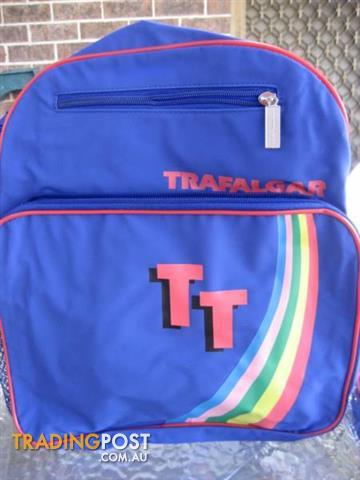 2 New Rainbow Backpack Carry Bag Trafalgar 80s For $40