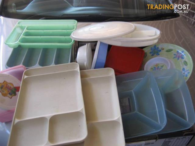 Plastic Plate and containers $15 all