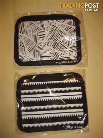 2 New Sass And Bide Clutch/ Tablet Cover