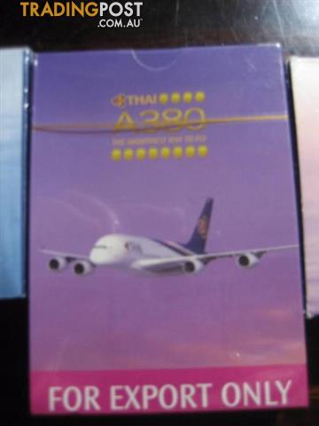 Sealed Thai Airlines A380 Playing Cards Souvenir