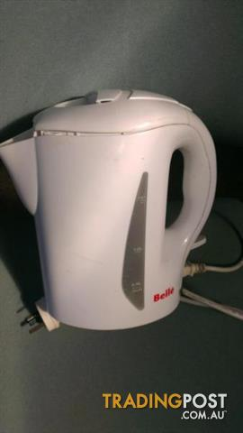 Bella plastic tea kettle 1.7L