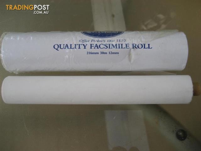 WC Penfold - FACSIMILE ROLL