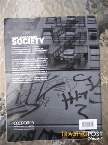 CONTEMPORARY SOCIETY by James Arvanitakis