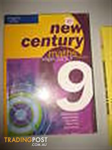 Yr 9 MATH TEXT book - New Century Stage 5.2/5.3