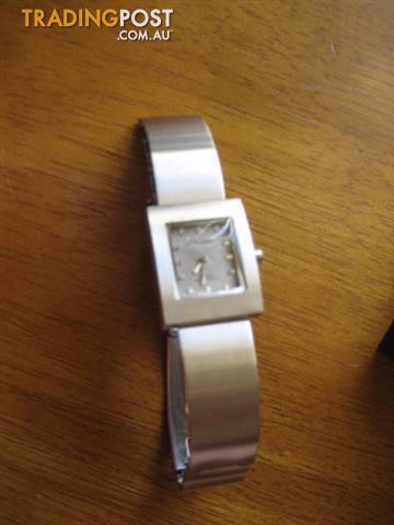 Philip Persio Quartz Waterproof Silver Woman's Watch