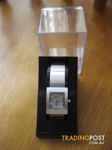 Philip Persio Quartz Waterproof Silver Woman's Watch