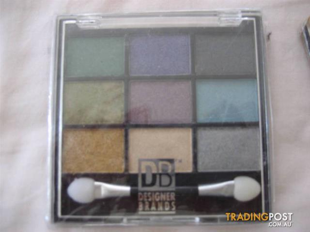 2 DB DESIGNER BRANDS 9 Mineral Eye Shadow Palette - $20 both