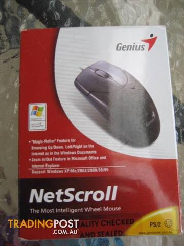 Computer Genius NetScroll Moues