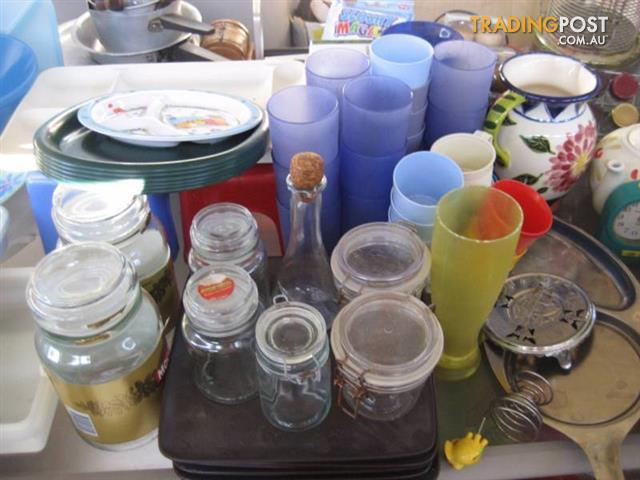Cheap Kitchen items-Everything Must Go - The Outdoor Glass Table