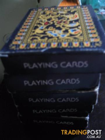 Vintage SINGAPORE AIRLINES Playing Cards, Early 1970s Never Used