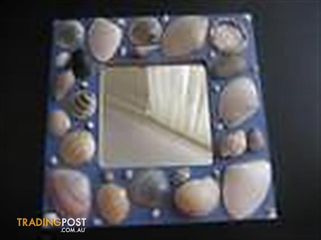 Sea shell Mirror - craftwork