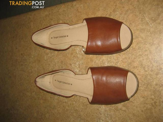 Leather Women Shoes - Target collection SZ 8